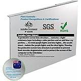 """fiara anti-lumière bleue Écran Filtre–55,9cm pouce (s'adapte à la plupart des écrans LED/LCD 55,9cm """"Bureau W510x H330x d45mm; Filtre Épaisseur 2.0mm); Efficacité prouvée pour protéger votre précieux Vision par l'Innovation brevet Australie & certifié par Test indépendant Australien Authority; spécialement conçu pour filtre jusqu'à 99,99% des Blue-Light nocifs et UV (380nm ~ 480Nm) de sources lumineuses en environnement de vie et de travail."""