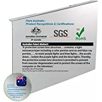 Fiara Anti-blue Light Screen Filter - 19 inch (Fits to most 19inch LED/LCD Desktop Monitors W440 x H290 x D45mm; Filter Thickness 2.0mm); PROVEN to protect your precious vision by INNOVATION PATENT AUSTRALIA & Certified by Australian Independent Test Authority.