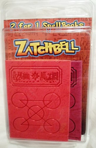 (Zatch Bell 2 For 1 Spell Books Zatch Zofis Red Purple (The Card Battle))