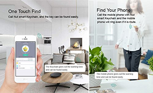 Nut Smart Keychain - The specialist Bluetooth key finder and phone finder, disconnection alarm make the key easy find never forget. by Nut (Image #5)