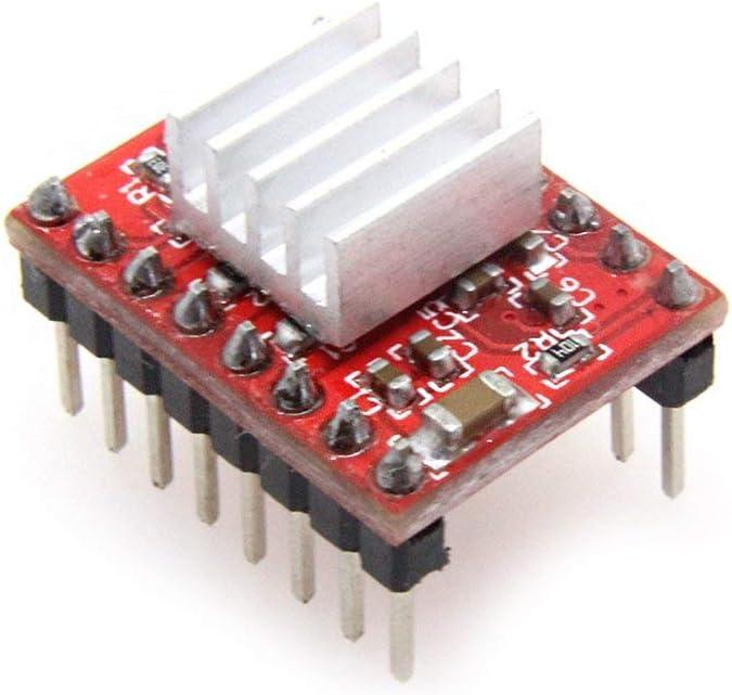 DollaTek 5Pcs 3D Drucker A4988 Reprap Schrittmotor Treibermodul