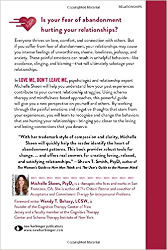 Love Me, Don't Leave Me: Overcoming Fear of Abandonment and ...