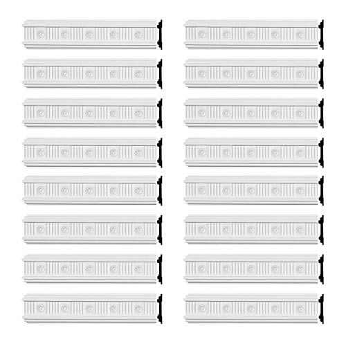 Renovator's Supply Crown Molding White Urethane Westchester Ornate 16 Pieces Totaling 1536