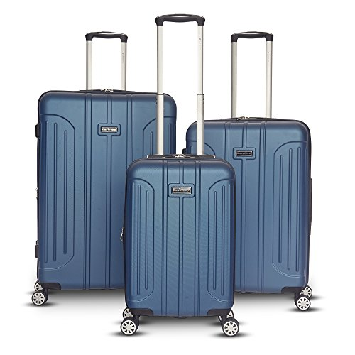 30' Luggage (Gabbiano Viva Collection 3 Piece Hardside Expandable Spinner Set (Blue))