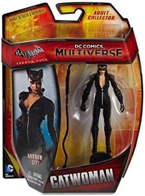 Batman Arkham City DC Comics Multiverse Catwoman 4-Inch Action Figure Mattel Toys SG/_B018WEN2VO/_US