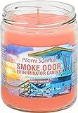 Smoke Odor Exterminator 13oz Jar Candle, Miami Sunrise