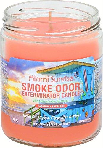 Smoke Odor Exterminator 13oz Jar Candle, Miami (Halloween Space Miami)