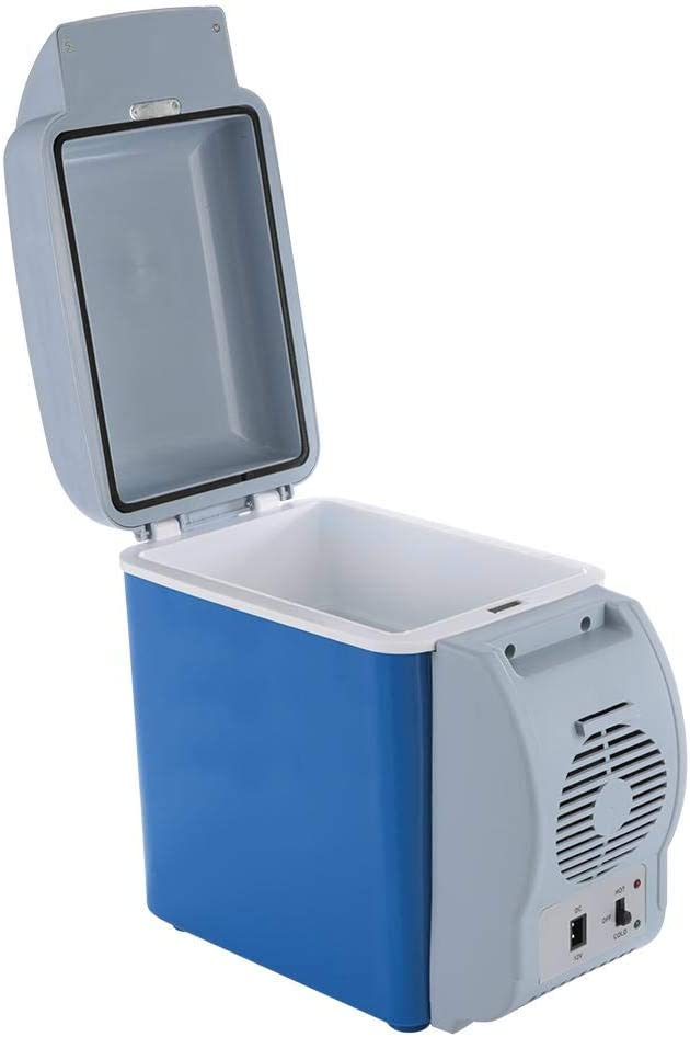 Mini frigorifero per auto mini frigorifero da campeggio da 7,5 litri da 2,5 litri