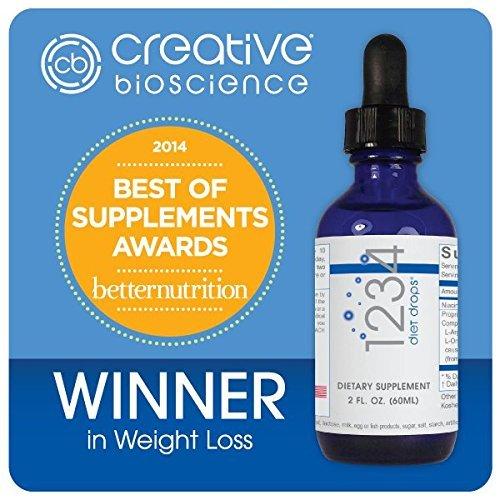 Creative Bioscience 1234 Diet Drops (3 Pack) by Creative Bioscience