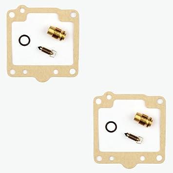 2x Kit Reparación Carburador Aguja del flotador Getor CAB-Y6