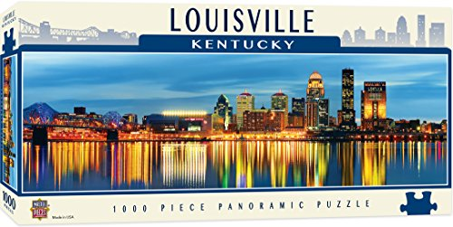 MasterPieces Louisville 1000 Piece Panoramic Jigsaw Puzzle Panoramic Cityscape