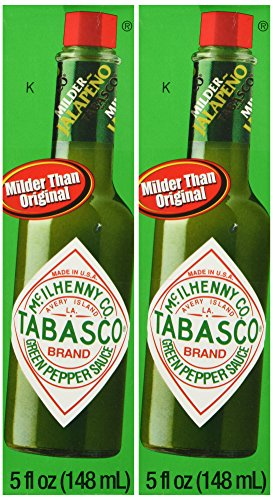 Tabasco Brand Green Jalapeno Pepper Sauce Pack of -