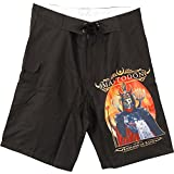 Mastodon Men's Emperor of Sand Board Shorts 34 Black