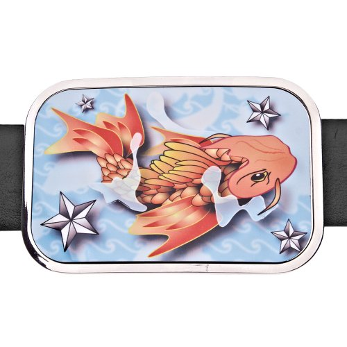 Tattoo Koi Ceinture Iced Bling Out Fish xFP0WFnB6X
