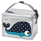 3 Sprouts Lunch Bag, Whale