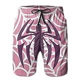 confirm vt 2017 New Pink Spider Men Beach Shorts Casual Sea Board Swim Trunks