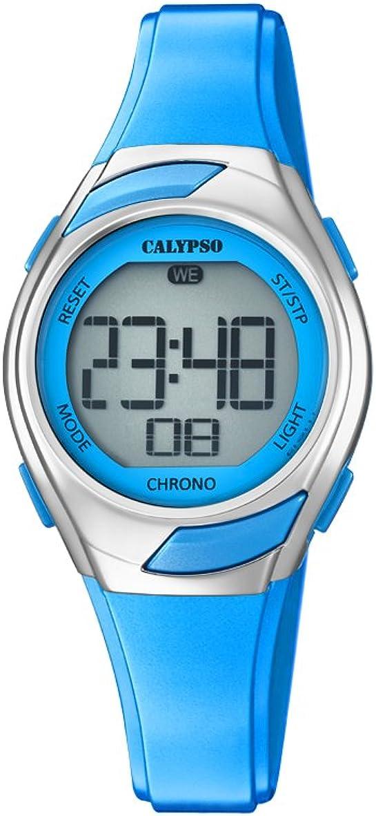 Calypso Reloj Digital para Mujer de Cuarzo con Correa en Plástico K5738/3