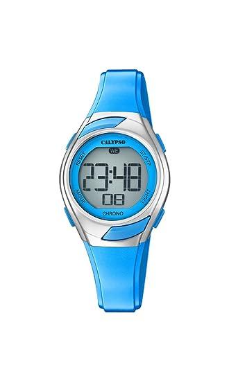 Calypso Reloj Digital para Mujer de Cuarzo con Correa en Plástico K5738/3: Calypso: Amazon.es: Relojes