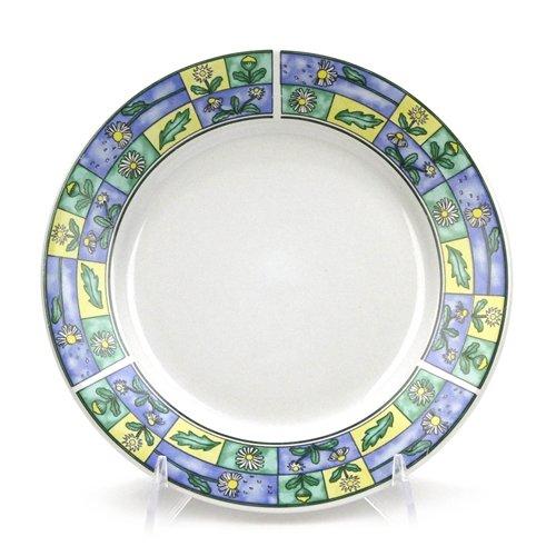 (Daisy Field by Sakura, Stoneware Salad Plate)