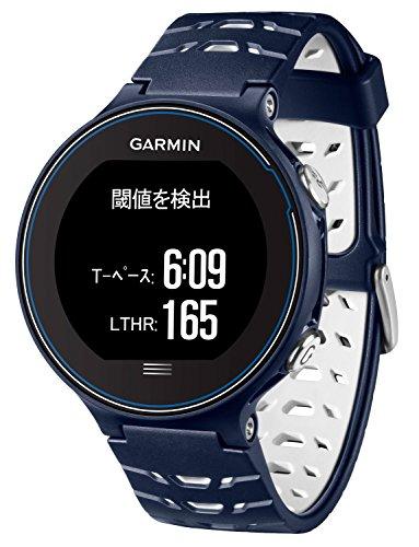 68536e87d8 GARMIN(ガーミン) ランニングウォッチ GPS タッチパネル ForAthlete 630J ミッドナイトブルー×ホワイト FA630J  371794
