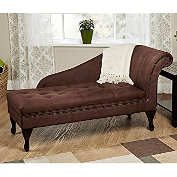 Amazon Com Belleze Velveteen Tufted Open Fold Spa Chaise