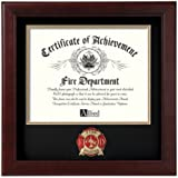 Allied Frame Fire Fighter Certificate of Achievement Frame
