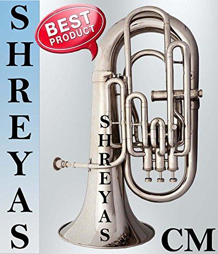 SHREYAS Bb Euphonium Nickel 4 Valve by SHREYAS