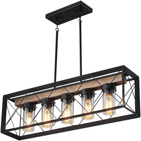 Amazon Com Farmhouse Chandelier Dining Room Lighting Fixtures Hanging Pendant Light Chandeliers For Dining Rooms Farmhouse Kitchen Island Lighting Home Improvement