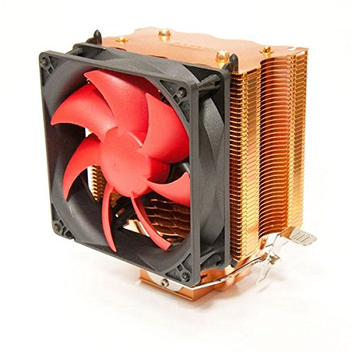 SilenX EFZ-92HA3 Processeur Refroidisseur ventilateur, refroidisseur et radiateur - ventilateurs, refoidisseurs et radiateurs (Processeur, Refroidisseur, 24 dB, lga775, lga1155/1156, lga1366, socket 754,939,940, AM2, AM2+, AM3, Rouge, 1,8 W)