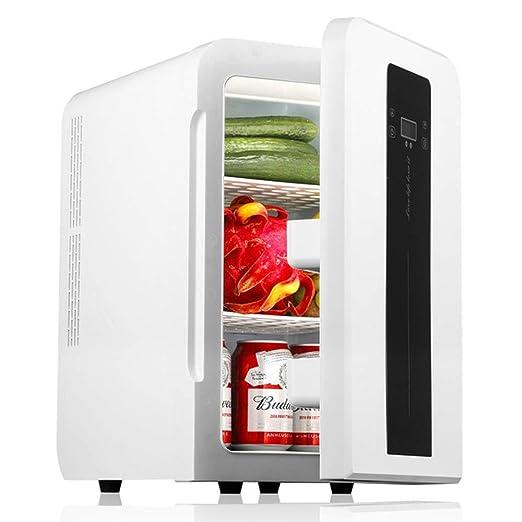 JU FU Mini Nevera Refrigerador de auto-22L Mini refrigerador Hogar ...