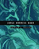 Large Address Book: Turquoise   Large Address Book for Seniors – Contacts, Addresses, Phone Numbers, Email – Organizer Journal Notebook (Jumbo Address Book) (Volume 3)