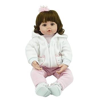 Amazon.es: Laurelmartina 58 cm de Silicona Suave Vinilo muñeca de ...