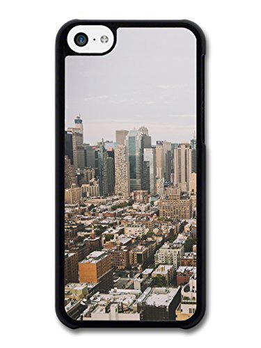 Old Retro Picture of City Urban Suburbs Skyline Photgraphy case for iPhone 5C