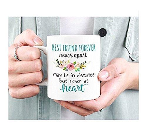 Best Friend Mug, Best Friend Moving, Mugs Long Distance, Friends Forever Mug, Distance Friendship, Mug Gift for Soul Mate, Best Friend Gift