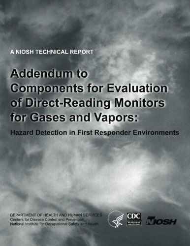 Gas Detection Monitors - Addendum to Components for Evaluation of Direct-Reading Monitors for Gases and Vapors: Hazard Detection in First Responder Environments