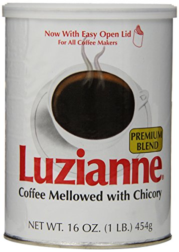 Luzianne Premium Blend Coffee & Chicory, 16 Ounce Cans (Pack of 3)