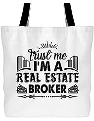 I'm A Real Estate Broker Bag, Tote Bag, Large Tote Bag