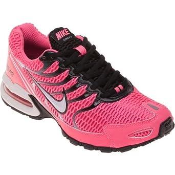 Femmes Nike Torche Air Max 4 Chaussure De Course Tupperware Noir / Rose