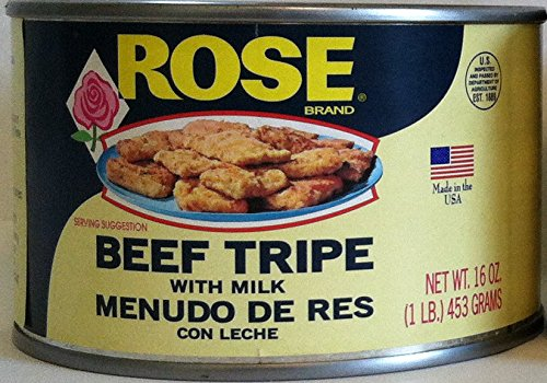 Rose Beef Tripe with Milk in a 1 Lb. Can., 2 (One Lb Cans) ()