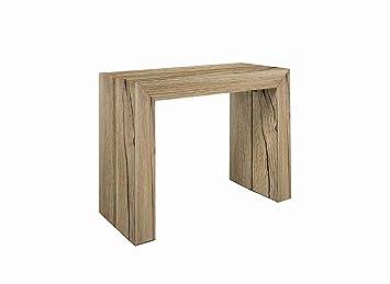 Consolle Allungabile Fino.Tavolo Legno Consolle Allungabile Fino A 3 Metri Tavolo 14 Posti Salvaspazio Multiposizione Design Moderno Elegante Consolle Per Casa E Ufficio
