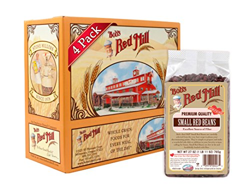 Bob's Red Mill Beans Small Red, 27 Ounce (Pack of (Fat Free Kidney Beans)