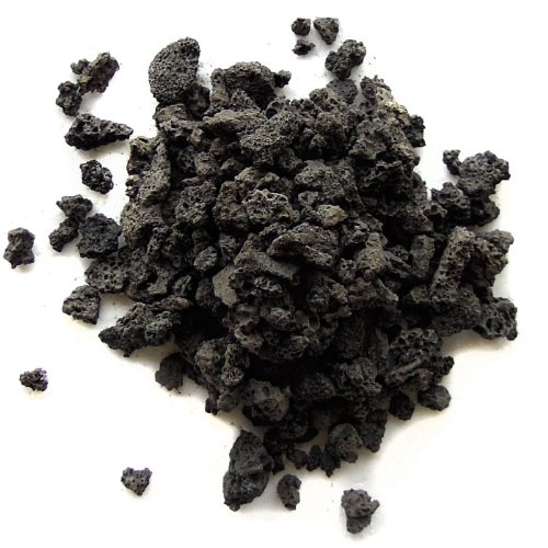 SubstrateSource Natural Black Lava Gravel - 10 Pounds by SubstrateSource