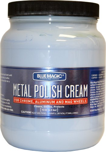 Blue Magic 550-02PK Metal Polish Cream - 1.89 Liter, (Pack of 2)