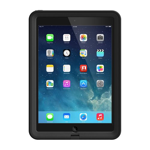 LifeProof FRE iPad Air (1st Gen Only) Waterproof Case - Retail Packaging - Black