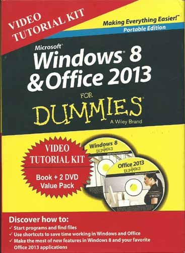(Windows 8 & Office 2013 for Dummies (Portable Ed + 2 Dvd Bundle))