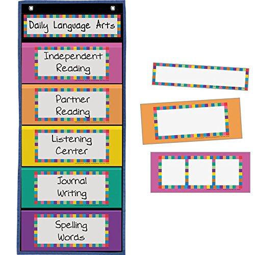 Black Multipurpose Pocket Chart