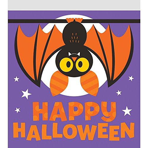 Creative Converting 120-Count Zipper Sandwich Bag, Halloween Bat for $<!--$18.53-->