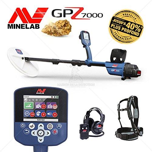 Metal Detector Minelab GPZ 7000 - Buy Online in UAE  | Diy Products