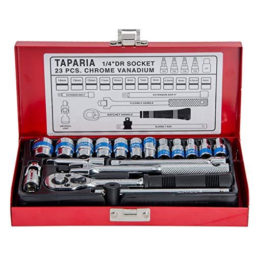 Taparia S1/4H 1/4-Inch Square Drive Socket Set Price & Reviews