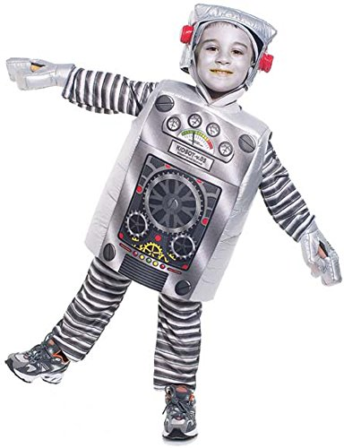Child's Toddler Robot Costume (Size: 2-4T) - Make A Robot Costume